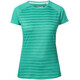 Berghaus Stripe II SS Crew Baselayer Women Deep Green Stripe